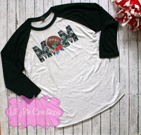 Football Mom Shirt - Lilly Pie Creations