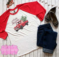 Vintage Truck Christmas Shirt - Lilly Pie Creations