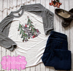 Christmas Tree Gnome Shirt for Women, Ladies Christmas Shirt