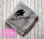 Custom Sweatshirt Blanket - Senior Gift - Dutchtown High School