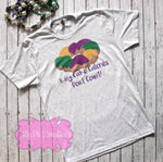 King Cake Calories Don't Count Shirt - Mardi Gras Graphic Tee