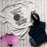 Football Wife Shirt - Lilly Pie Creations