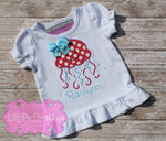 Jelly Fish Summer Shirt Lilly Pie Creations