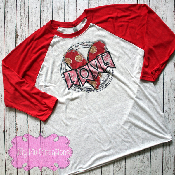Love Valentines Day Shirt - Ladies Love Valentine's Day T-shirt