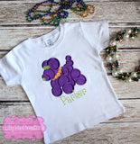 Mardi Gras Bead Dog Shirt - Lilly Pie Creations