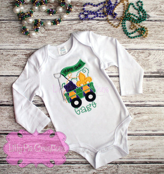 Mardi Gras Wagon - LIlly Pie Creations