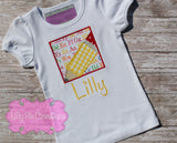 Back to School Applique Shirt