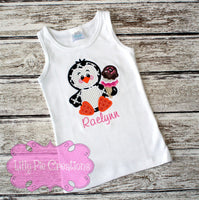 Penguin Summer Kids Shirt - Lilly Pie Creations