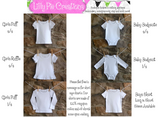 Baby Boy Rainy Day Outfit - Boys Applique Bodysuit.