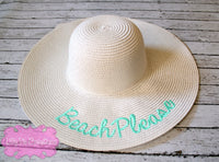 Beach Please Sun Hat