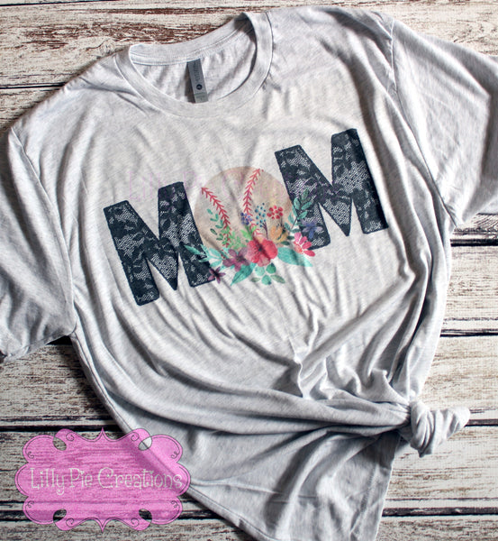 Baseball Mom Shirt, Baseball Mom Tank Top, Baseball Mom Raglan
