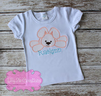 Easter Bunny Shirt - Lilly Pie Creations