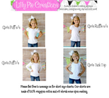 Girls Thanksgiving Applique Shirt - Girly Turkey Outfit