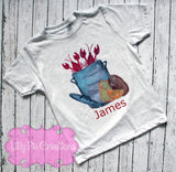 Kids Personalized Crawfish Boil T Shirt