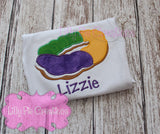 Kids King Cake Shirt - Lilly Pie Creations