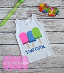 Popsicle Birthday Shirt - Lilly Pie Creations