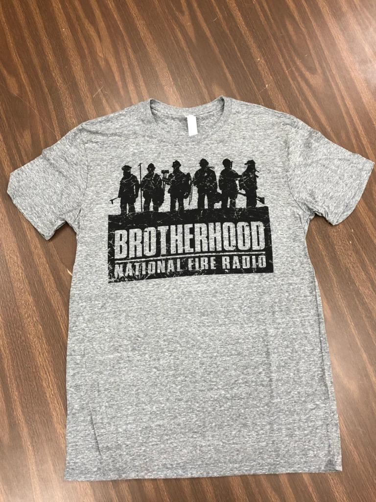 """Brotherhood"" - Short Sleeve, Weathered Gray"