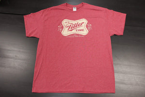 """It's Tiller Time"" - Short Sleeve, Vintage Red"