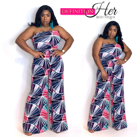 Fire Works Wide Legged Jumpsuit