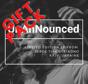GIFT PACK - UnAnNounced EP by Serge Tiagnyriadno (Includes 3  Physical CDs) - Jetpack Artist Ventures