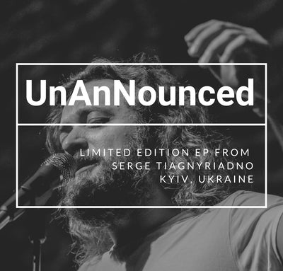 Autographed By Serge -  UnAnNounced by Serge Tiagnyriadno (1 Physical CD) - Jetpack Artist Ventures