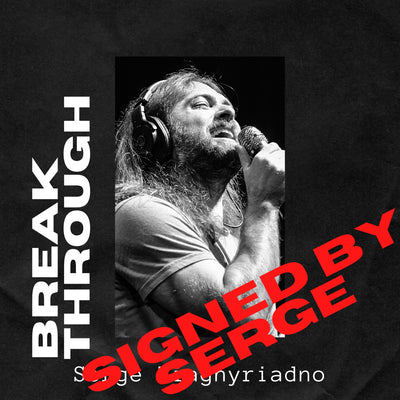 BREAKTHROUGH - PERSONALLY SIGNED BY SERGE (PREORDER Physical CD) by Serge Tiagnyriadno - Jetpack Artist Ventures