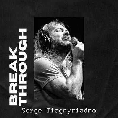 BREAKTHROUGH (PREORDER Physical CD) by Serge Tiagnyriadno - Jetpack Artist Ventures