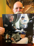 Jeff Coffey Photo Collage (signed by Jeff)