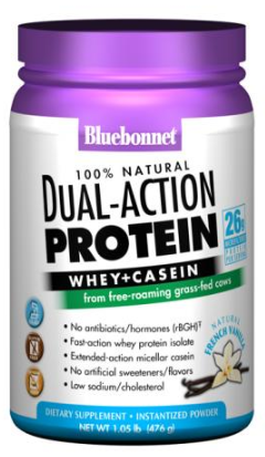 Bluebonnet Dual-Action Protein Natural French Vanilla