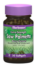 Load image into Gallery viewer, Bluebonnet Herbals Extra-Strength Saw Palmetto 320mg 60 softgels