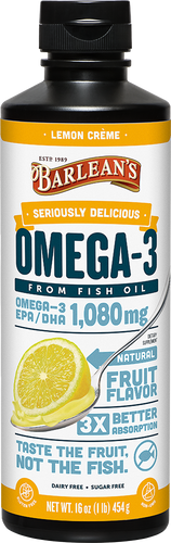 Barlean's Seriously Delicious™ Omega-3 Fish Oil 16oz