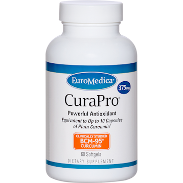 EuroMedica CuraPro® (375 mg) 60 softgels