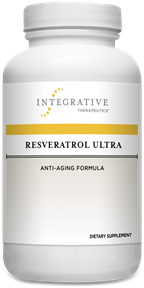 Integrative Therapeutics Resveratrol Ultra 60 vegetable capsules