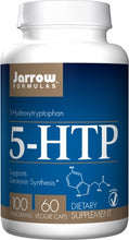 Load image into Gallery viewer, Jarrow Formulas 5-HTP 100mg 60 capsules