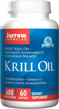 Load image into Gallery viewer, Jarrow Formulas Krill Oil 60 softgels