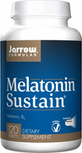 Load image into Gallery viewer, Jarrow Formulas Melatonin Sustain 120 capsules