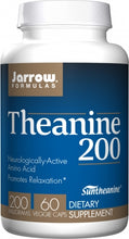 Load image into Gallery viewer, Jarrow Formulas Theanine 60 capsules