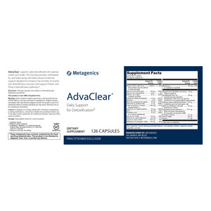 Metagenics AdvaClear