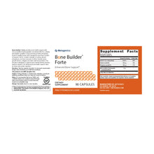 Load image into Gallery viewer, Metagenics Bone Builder® Forte 180 capsules