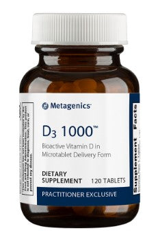 Metagenics D3 1000 120 tablets