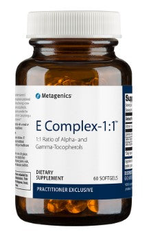 Metagenics E Complex 1:1 60 softgels