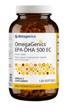 Metagenics OmegaGenics™ EPA-DHA 500 EC 120 Lemon softgels