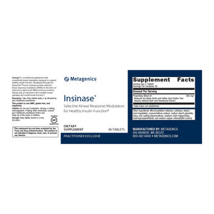 Metagenics Insinase® 90 tablets