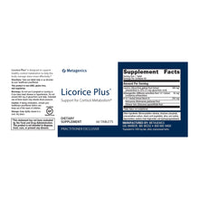 Load image into Gallery viewer, Metagenics Licorice Plus® 60 tablets