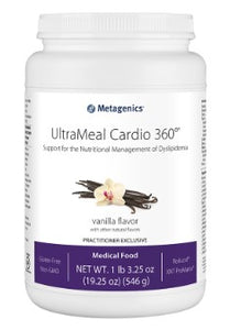 Metagenics UltraMeal Cardio 360® 19.25oz (14 servings)