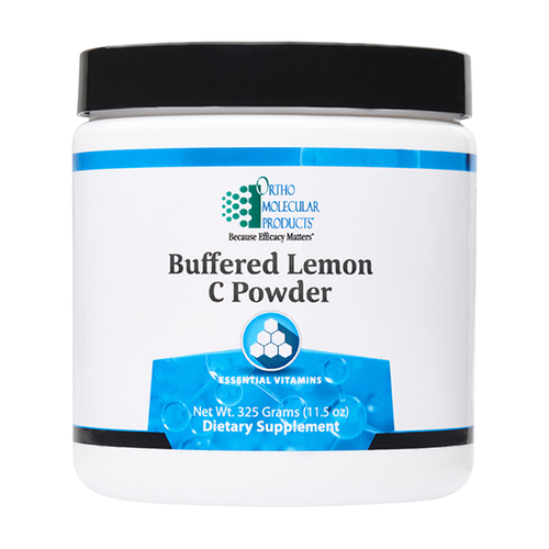 Ortho Molecular Buffered Lemon C Powder 11.5oz (50 servings)