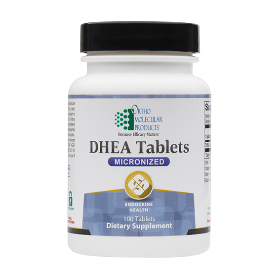 OrthoMolecular DHEA 5mg 100 tablets