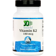 Load image into Gallery viewer, Ortho Molecular Vitamin K2 180mcg