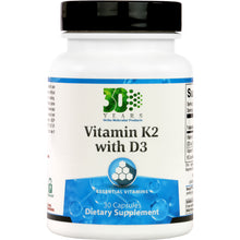 Load image into Gallery viewer, Ortho Molecular Vitamin K2 with D3