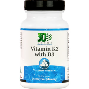 Ortho Molecular Vitamin K2 with D3